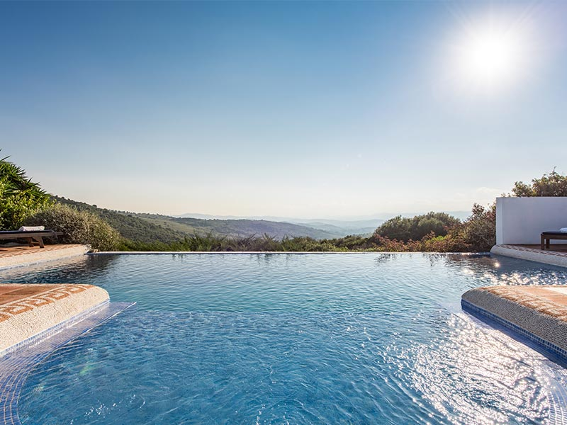 An image of the infinity pool